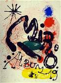 """Joan Miro, one plate from """"Album 19"""""""