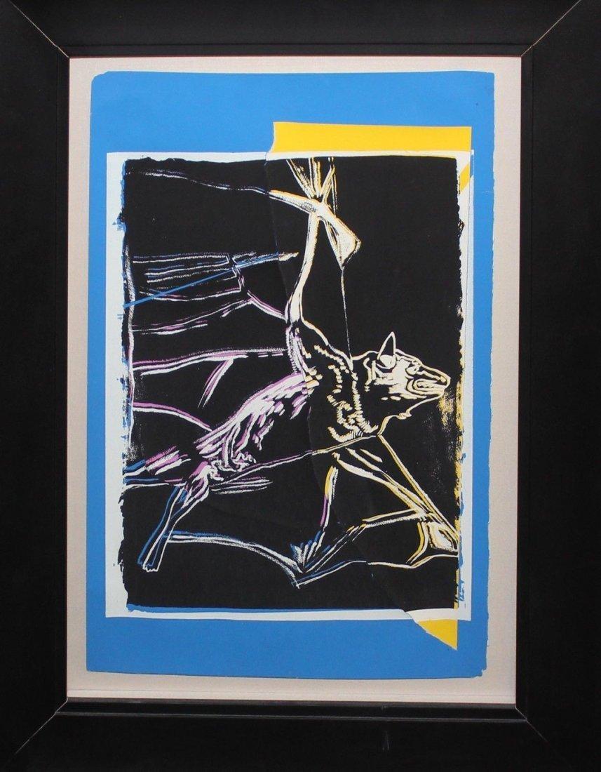 "Andy Warhol ""Bat"""