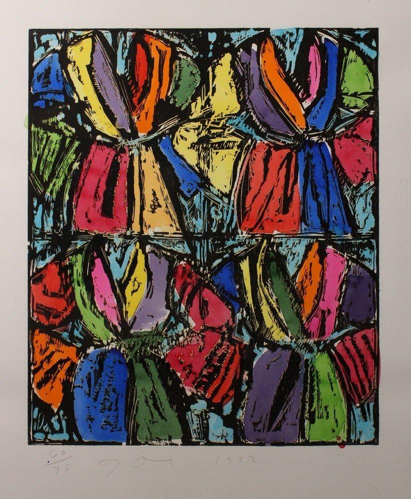 """Jim Dine """"Dexter's Four Robes"""""""