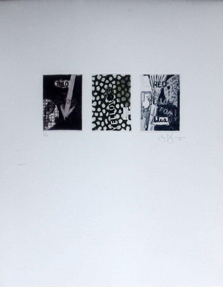 "Jasper Johns ""Untitled"""