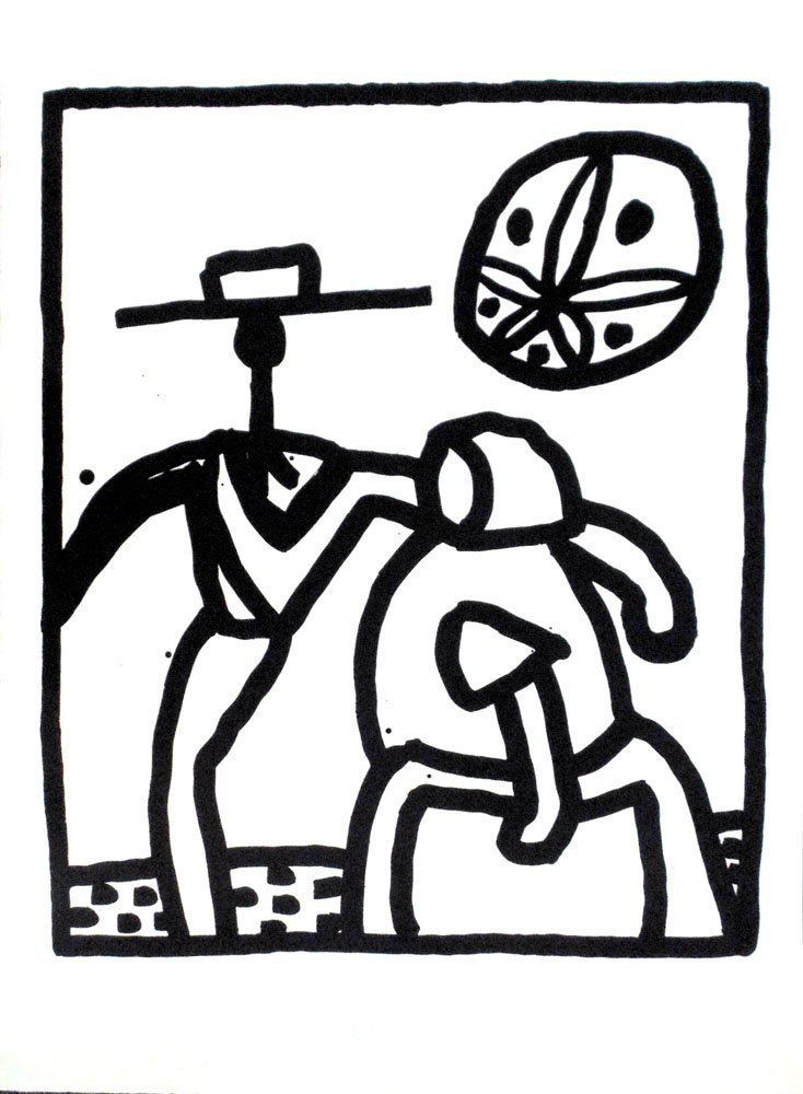 """Keith Haring """"Kutztown"""""""