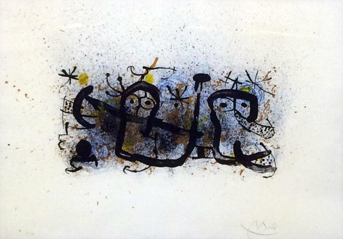 "Joan Miro \"" MA DE PROVERBIS\"""" (M. 673-679"""