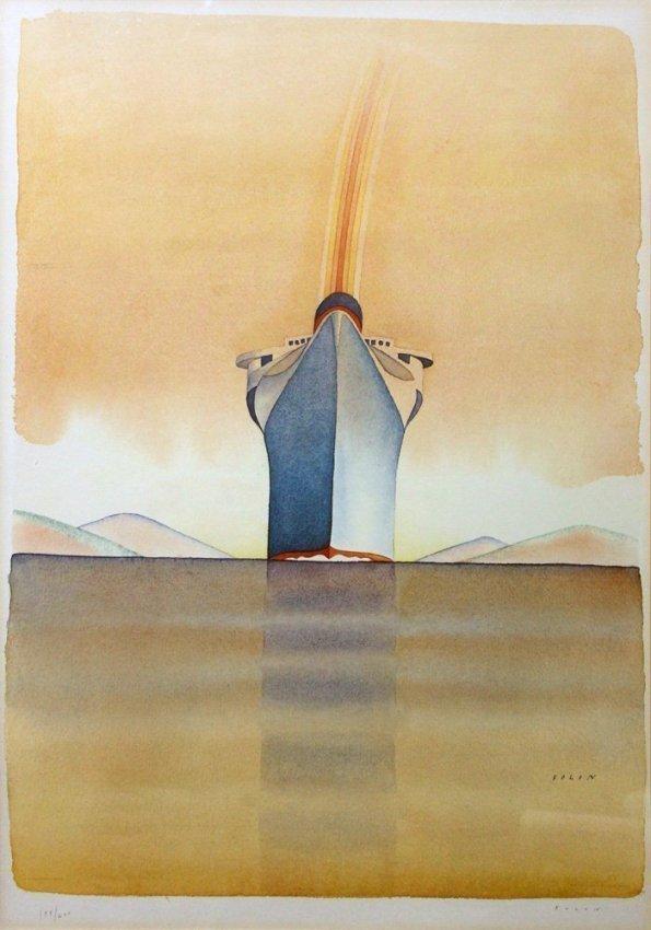 """Jean-Michel Folon """"Musee de l'Affiche (Hommage a"""