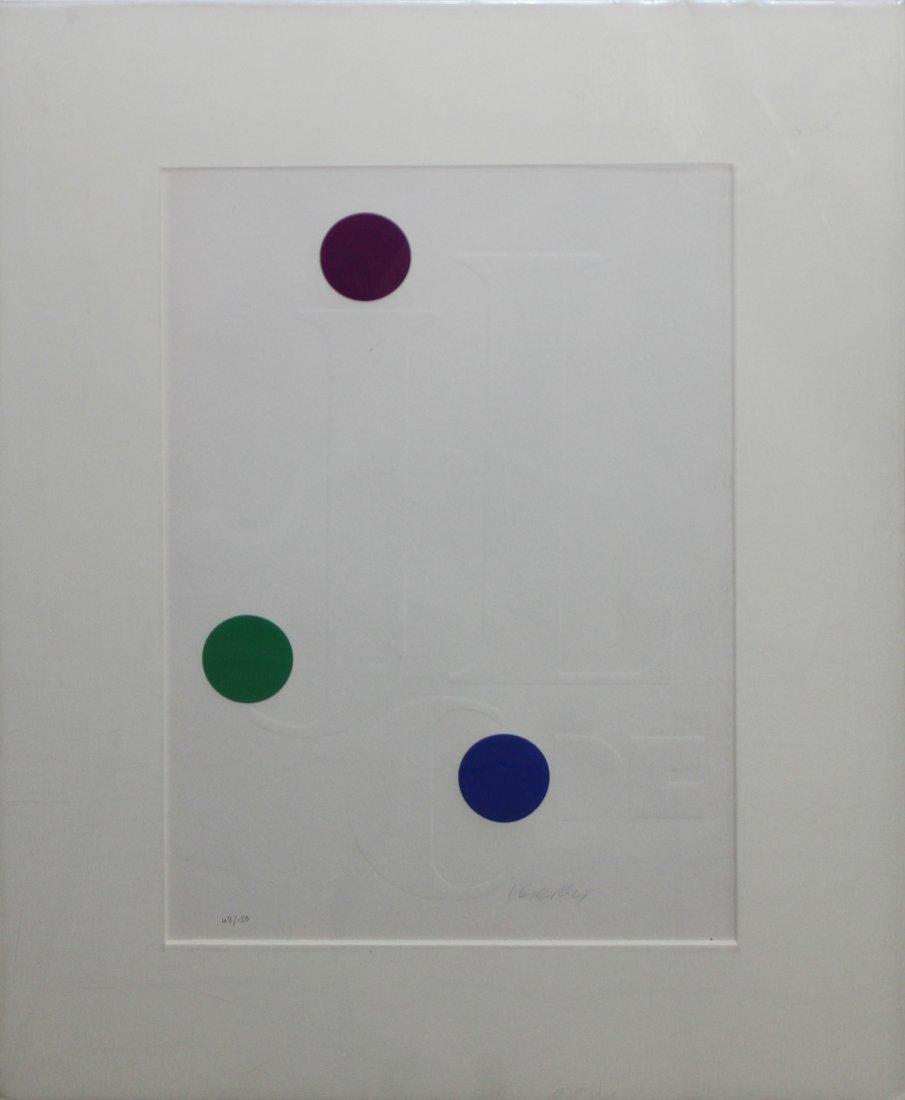 "Victor Vasarely ""JL Code"""