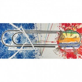 """James Rosenquist """"cold Rolled"""""""