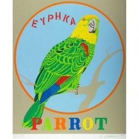 "Robert Indiana ""parrot"" From Decade"