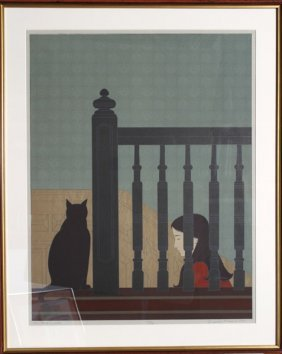 """Will Barnet """"the Bannister"""""""