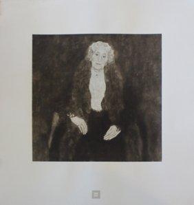 """Gustav Klimt """"bildnis Einer Alten Dame"""""""