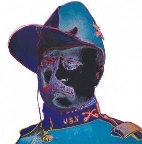 "Andy Warhol ""teddy Roosevelt"""