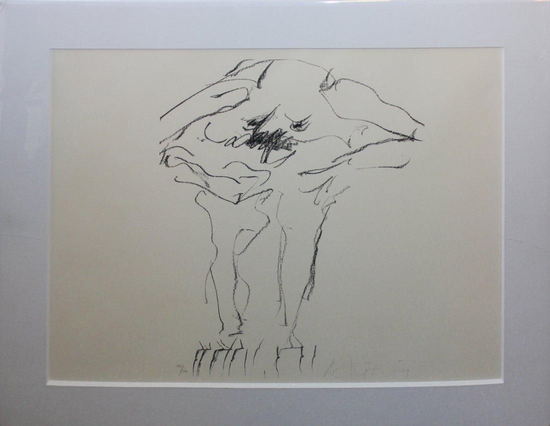 William De Kooning original lithograph