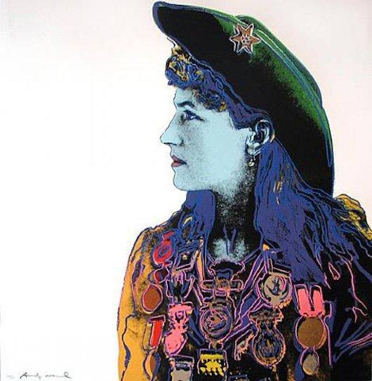 """Andy Warhol """"Annie Oakley"""""""
