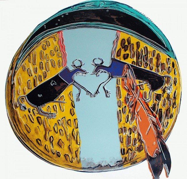 "Andy Warhol ""Plains Indian Shield"""