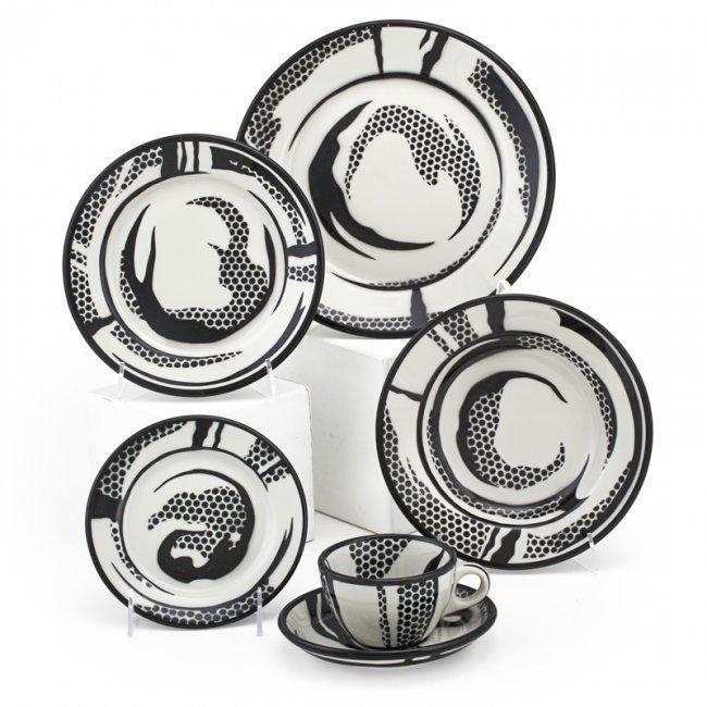 Roy Lichtenstein Dinnerware Set