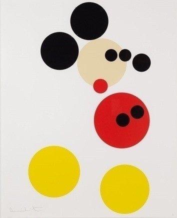 "Damien Hirst ""Mickey (Large)"""