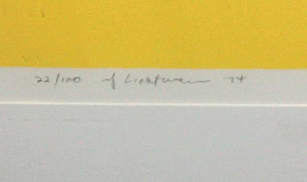 """Roy Lichtenstein """"Still Life with Figurine"""" - 3"""