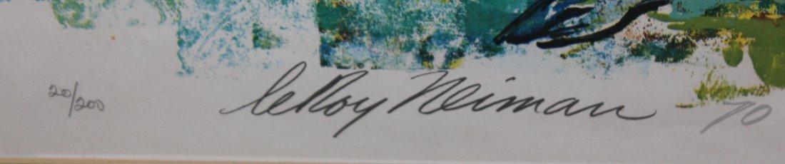 """LeRoy Neiman """"Bill Hartack"""" - 4"""