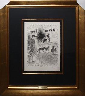 Pablo Picasso, From Carnet De La Californie