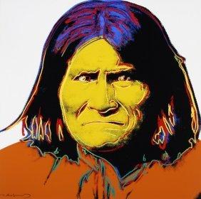 """Andy Warhol """"geronimo"""""""