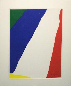 """Helen Frankenthaler """"untitled"""""""