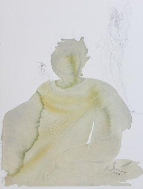 "Salvador Dali ""biblia Sacra 78- Licet Tributum Dare"