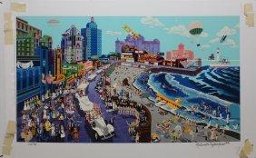 "Melanie Taylor Kent ""boardwalk, Atlantic City"""
