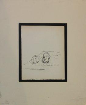 Alberto Giacommetti, From Pomme Endormie