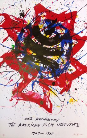 "Sam Francis ""20th Anniversary: The American Film Instit"
