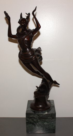 Thomas Mcknight Original Bronze Sculpture