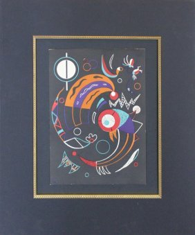 "Wassily Kandinsky ""cometes"""