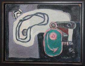 """Roy Lichtenstein, Original Oil """"eccentric Cam"""""""
