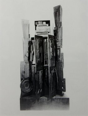 "Louise Nevelson "" I Do Like To Be Beside The Seaside"""