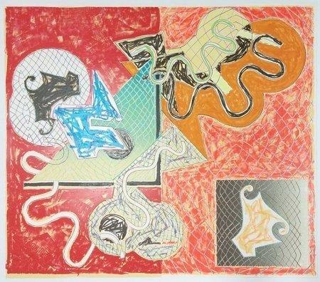 "Frank Stella ""Shards IV"""