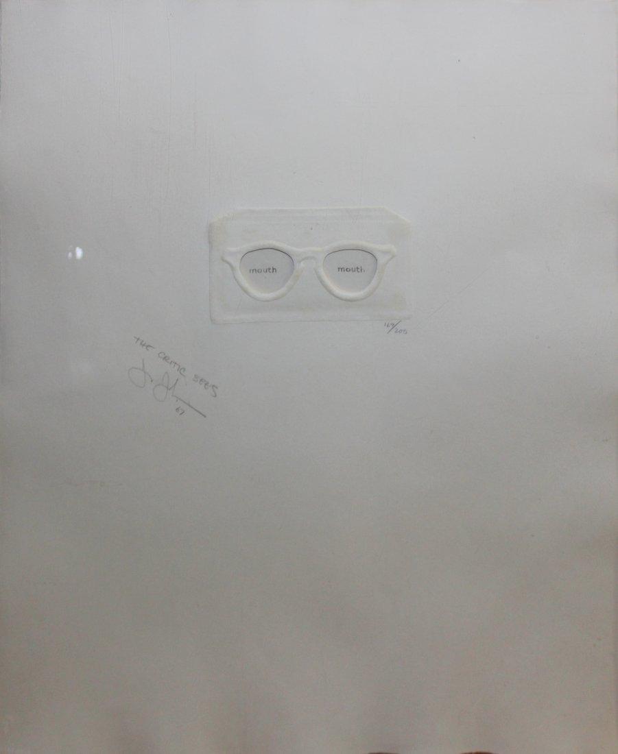 "Jasper Johns ""The Critic Sees"""