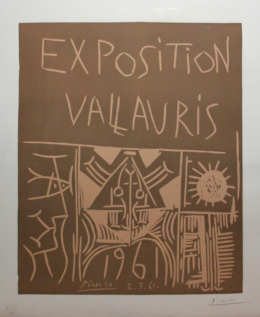 "Pablo Picasso ""Exposition Vallauris 1961"""