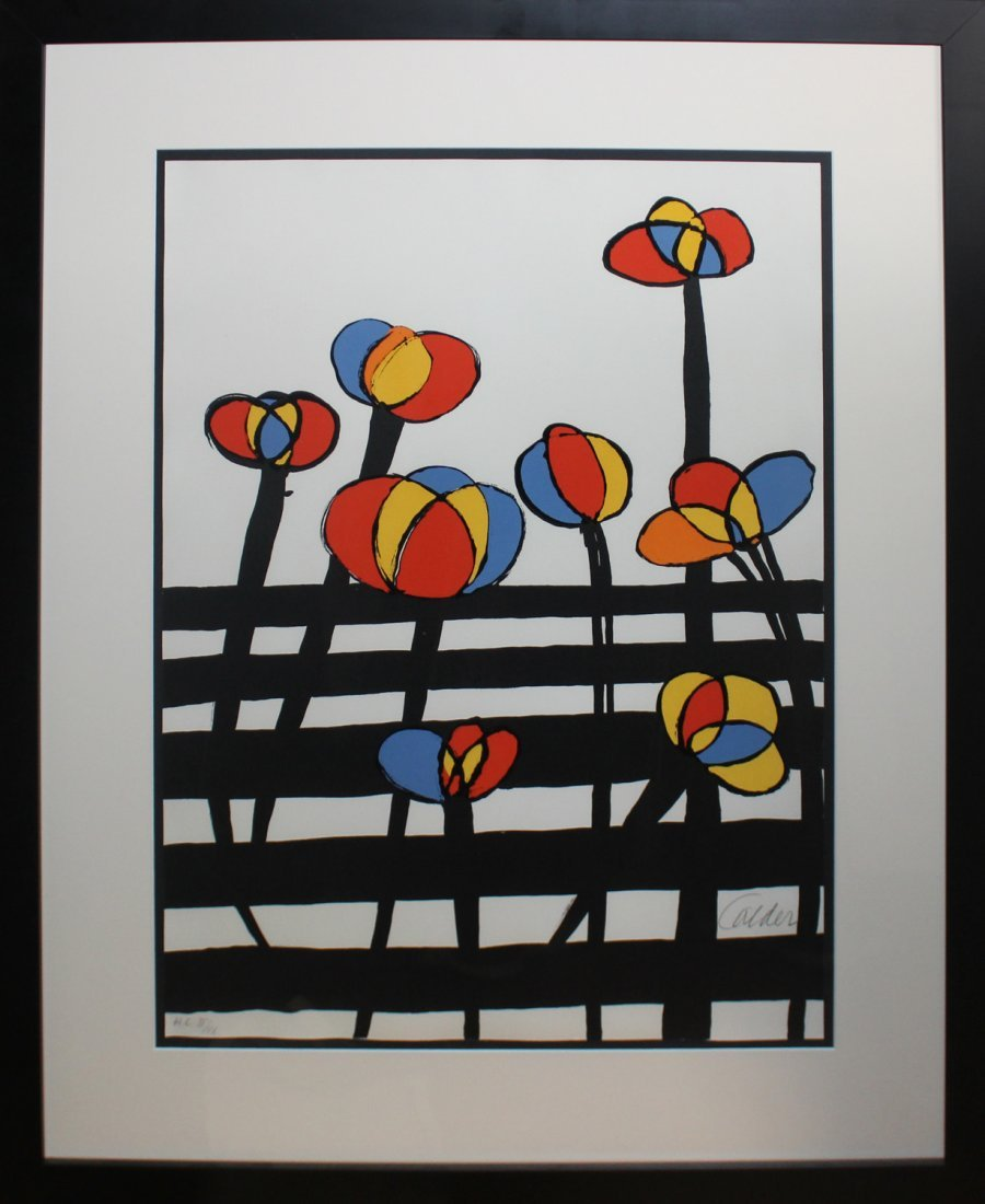 """Alexander Calder """"Untitled (Flowers)"""""""