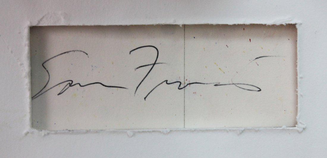 "Sam Francis, ""Untitled"" - 2"