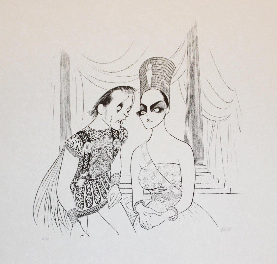 "Al Hirschfeld """"Anthony & Cleopatra"" - 2"