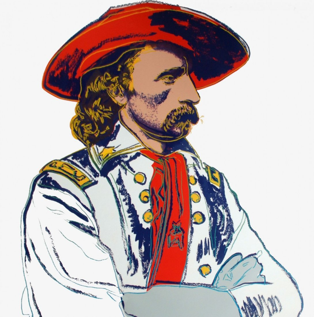 "Andy Warhol ""General Custer"""