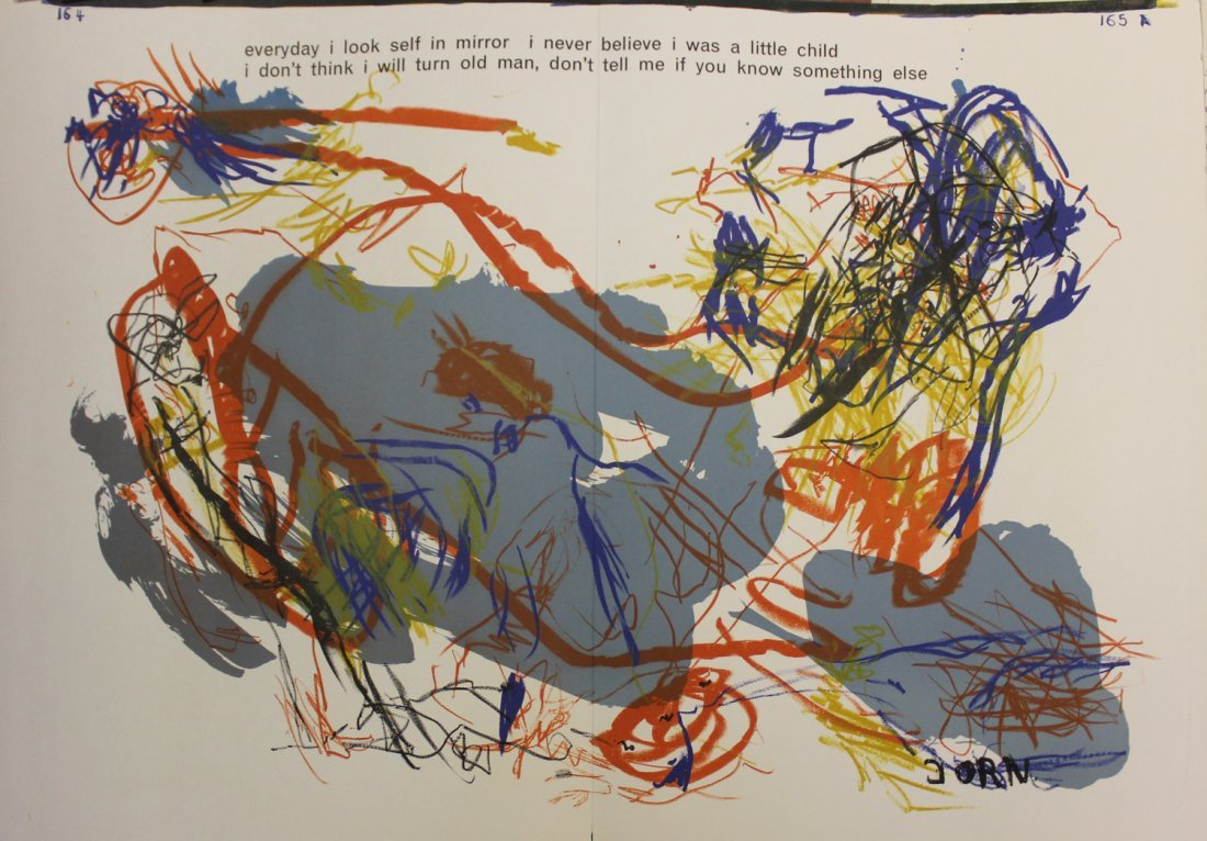 """Asger Jorn, from One Cent Life"""""""