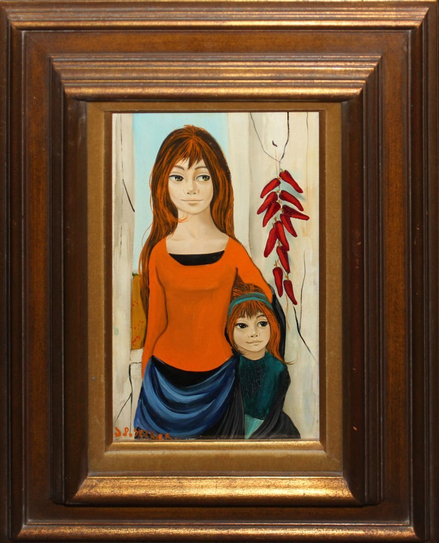 """Jean Pierre Serrier """"Mother and Daughter"""""""
