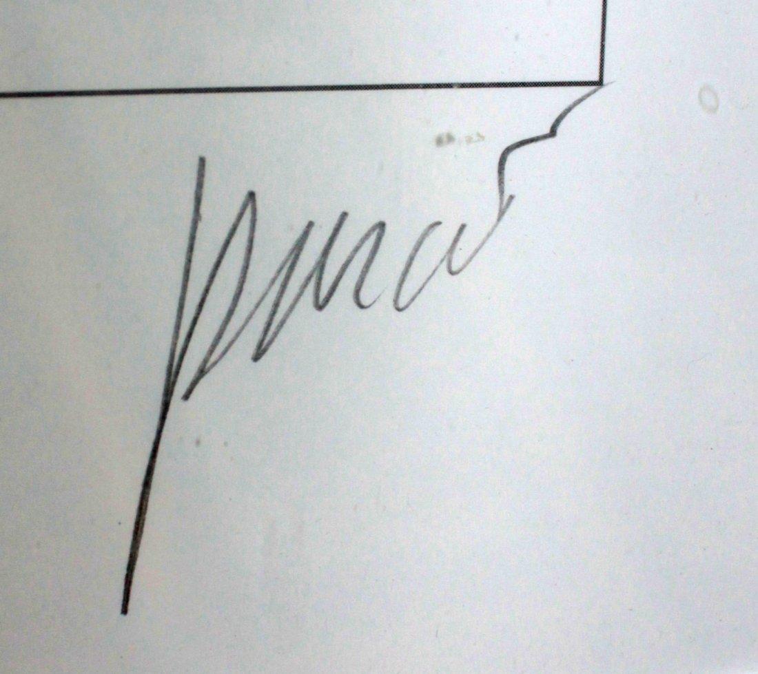 "Jerry Garcia, ""Sadaam"" Original Lithograph on Paper - 2"