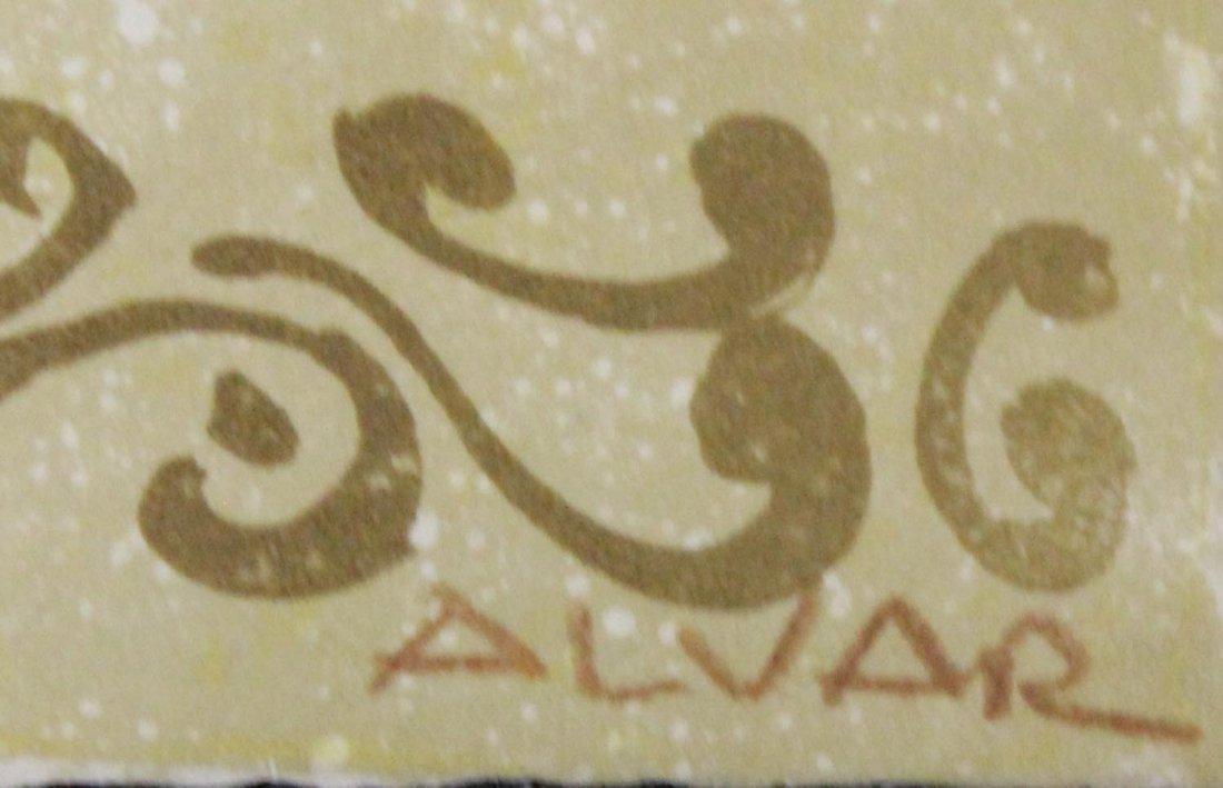 """Sunol Alvar """"Untitled (Guitarist)"""" - 2"""