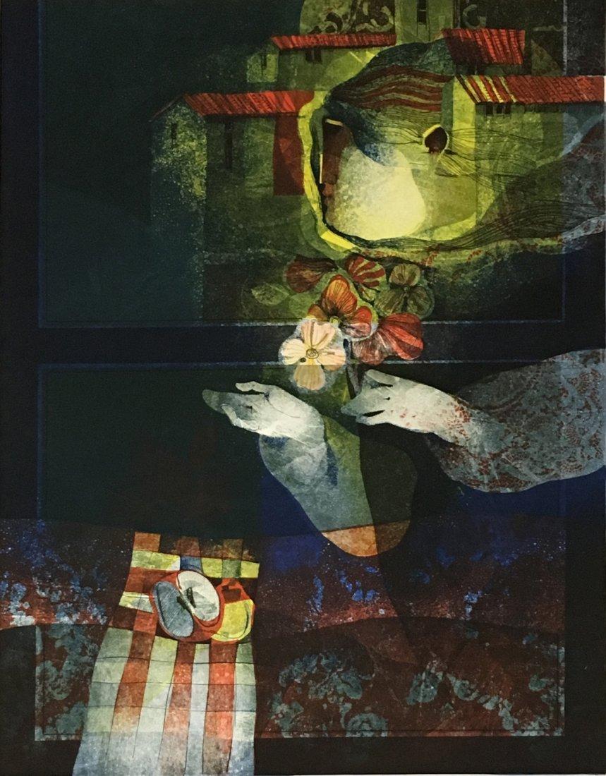 Sunol Alvar original lithograph - 2