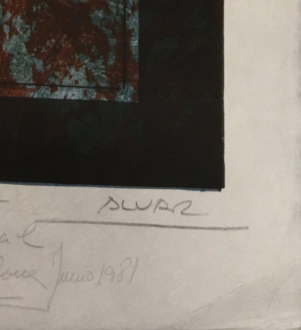 Sunol Alvar original lithograph - 3