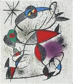 """Joan Miro - Jaillie du Calcaire from """"Souvenirs de"""