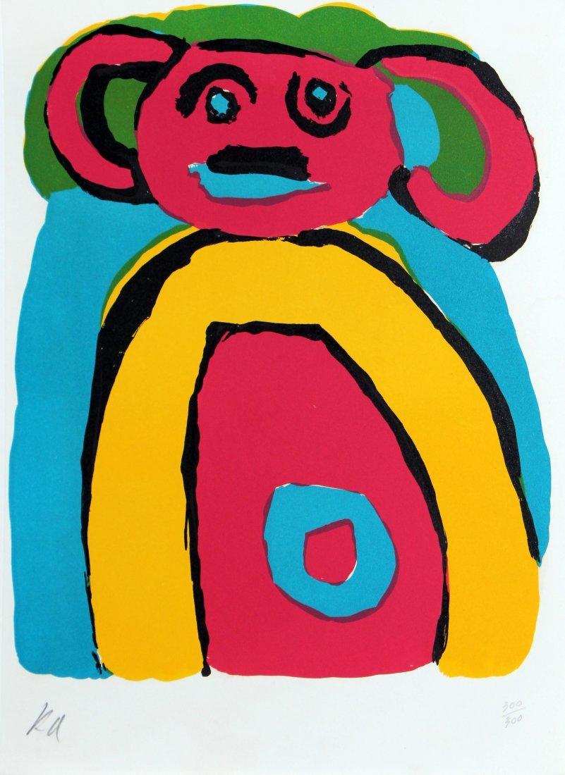 Karel Appel - Bear
