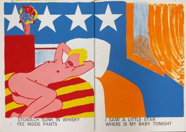 Tom Wesselmann original lithograph