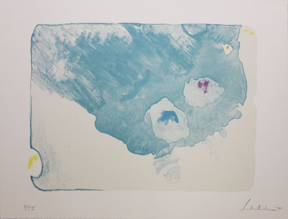 "Helen Frankenthaler ""Reflections VII"""