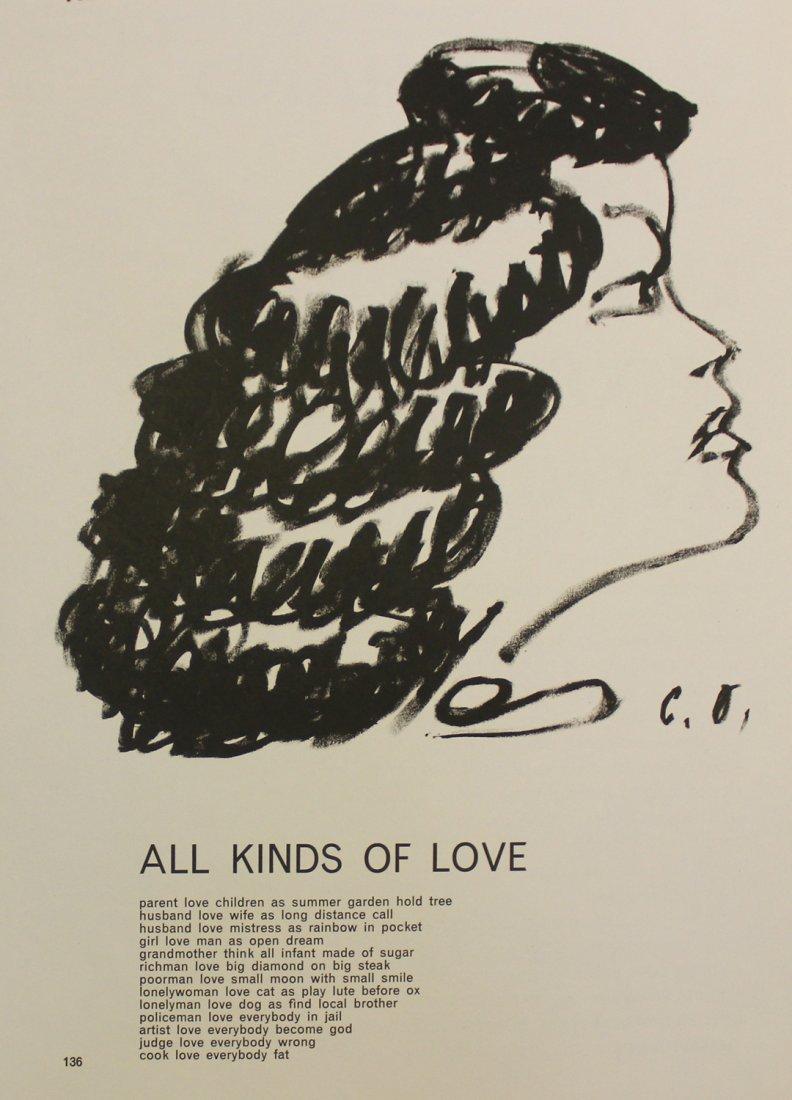 "Claes Oldenburg ""Untitled (Portrait of a Woman)"""