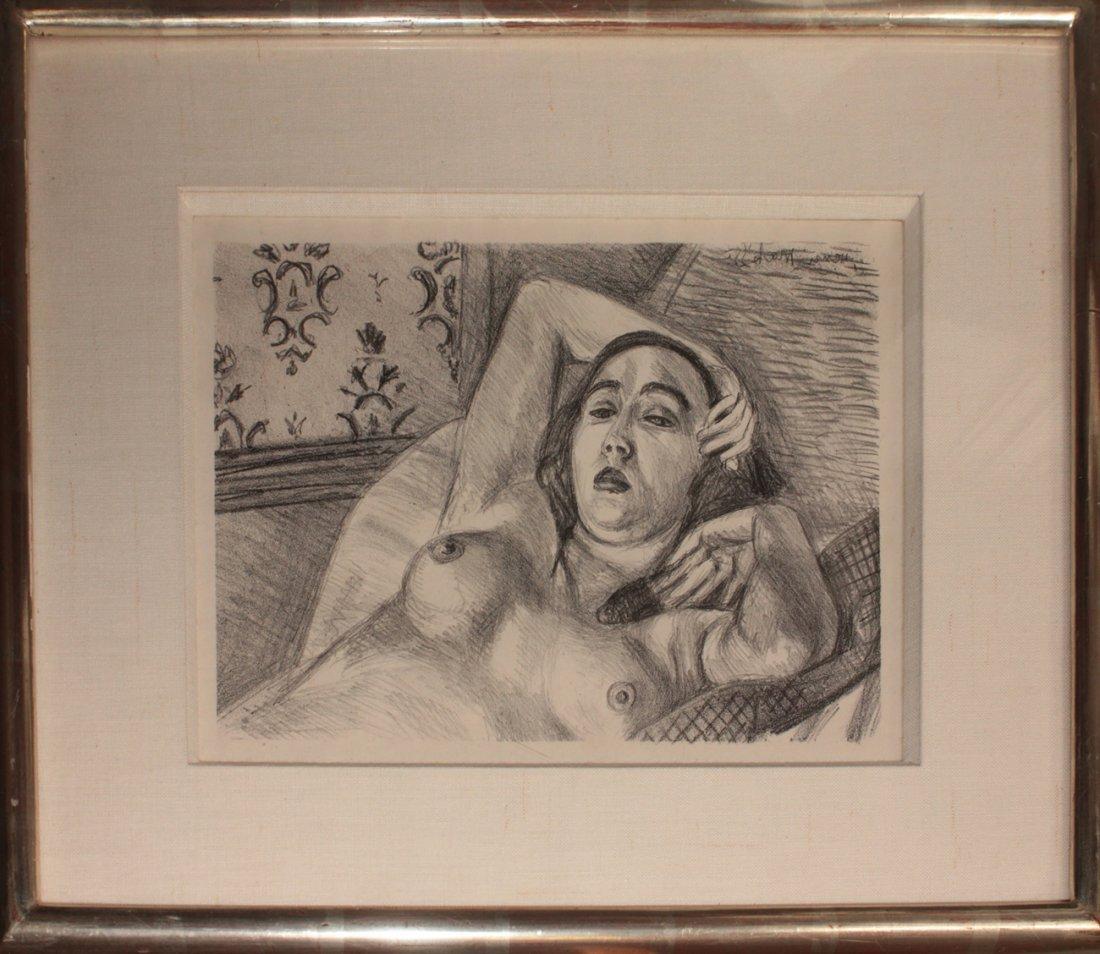 "Henri Matisse ""Le Repos du Modele"""